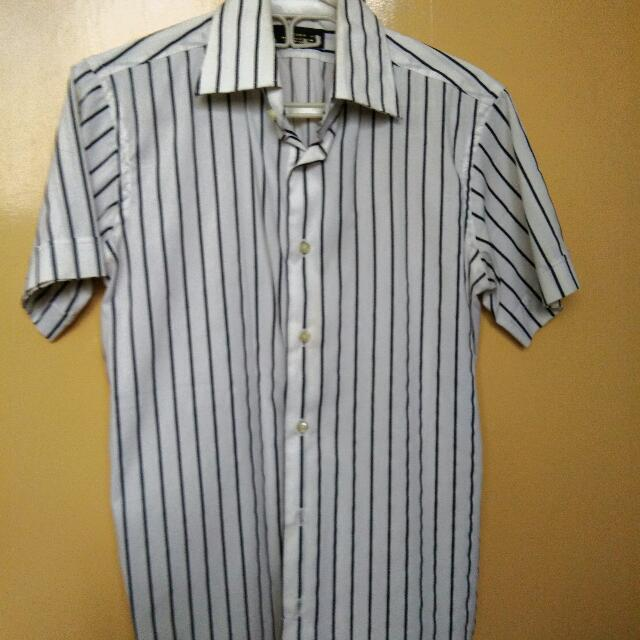 Zara Man Short Sleeve Polo