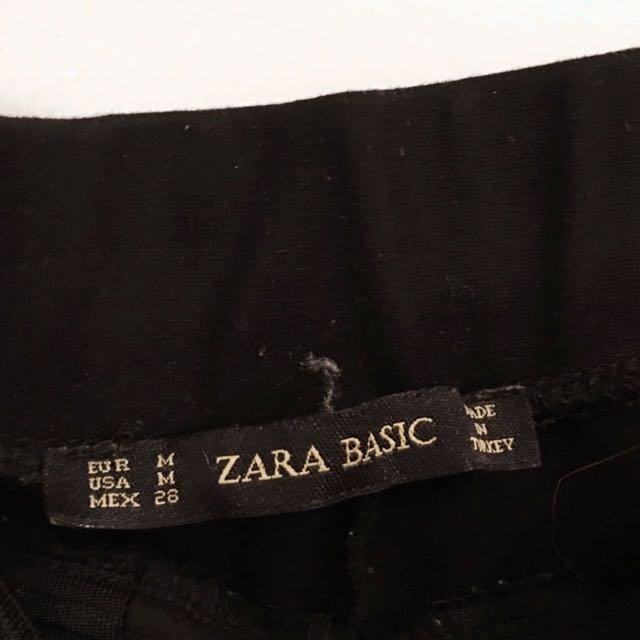 ZARA Ribbed Leggings