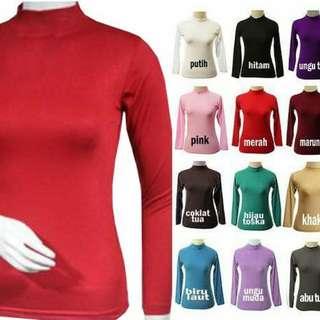 Manset Atasan Kaos Spandek Rayon Bigsize ( XL )