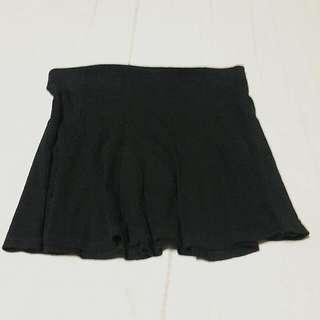 Bershka Black Short Skirt