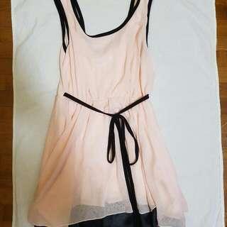 Two-way Peach Pink Dress