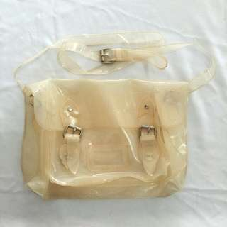 Satchels Jelly White