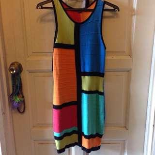 Pre❤️ Forever 21 Color block Dress