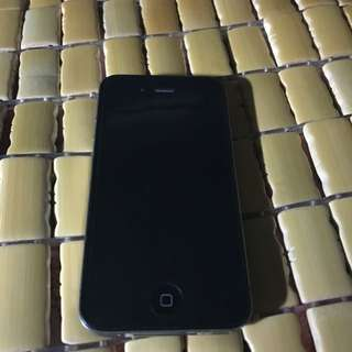二手黑色iphone4  16gb