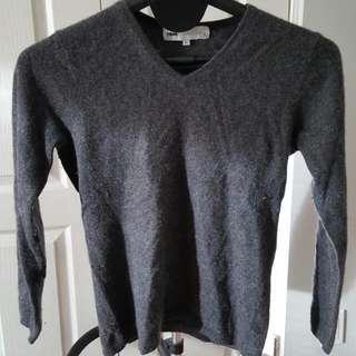 Long Sleeve Cashmere Large