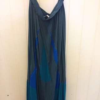 Talulah Long Silk Skirt Never Worn
