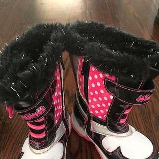 Girls Winter Boots Sz8