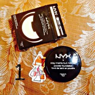 NYX Stay Matte But Not Flat Powder Foundation