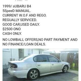 SUBARU B4 1999