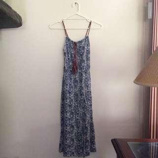 Bohemian Maxi Spring Dress Size S/ Size 6-8