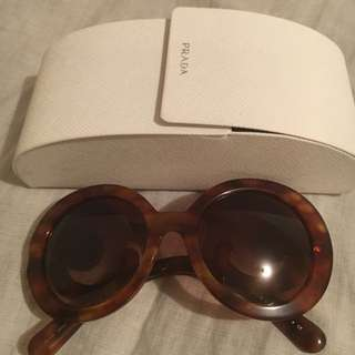 PRADA Authentic Sunglasses With Minor Damage