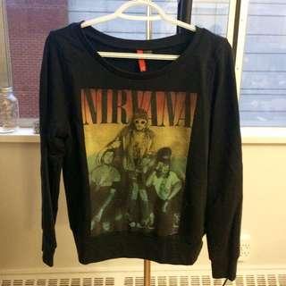 Vintage Style Nirvana Sweater