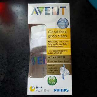 Bnib Avent 125ml Advance With Norm Mail