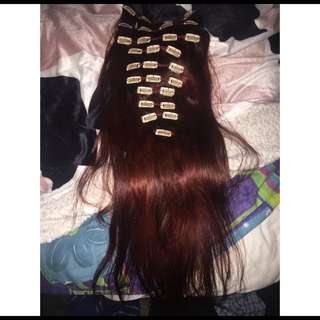 20 Inch Full Head Hair Extensions