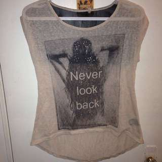 Never look Back Shirt