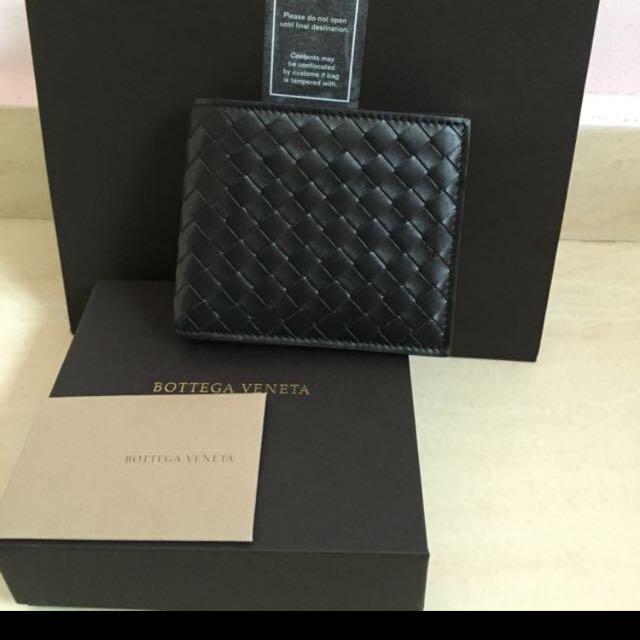 100% Authentic Bottega Veneta Men s Wallet ffffa73e13668