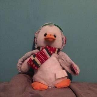Christmas Penguin Plush