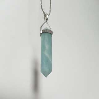 Chrysoprase Gem Necklace