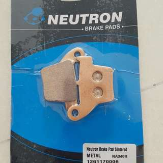 Neutron Rear Brake Pads. Honda CRF250R