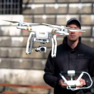 DJI Phantom Aerial Drone For Hire