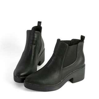 全新❤百搭短靴 踝靴 厚底靴 軍靴