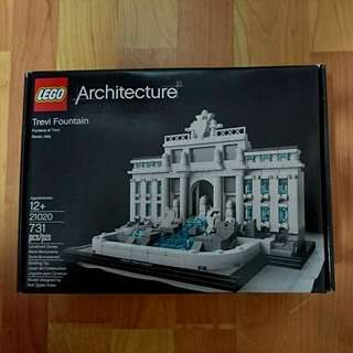 LEGO Trevi Fountain (Architecture Series)