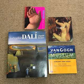 Art Books - Van Gogh, Dali, Impressionists