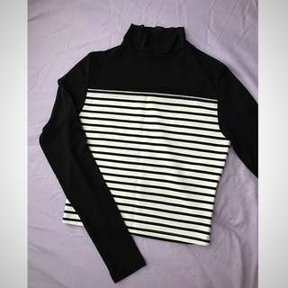 Attractive Transparent Classic Stripe Top