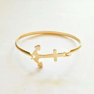 Anchor Stainless Bangle