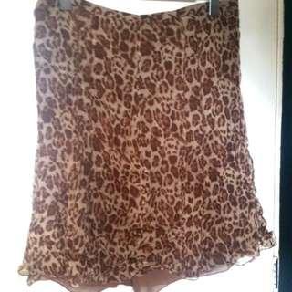 Sunny Lea Mid Length Skirt Sz 14