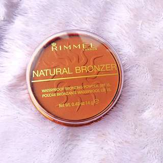 Rimmel Natural Bronzer - Sunkissed