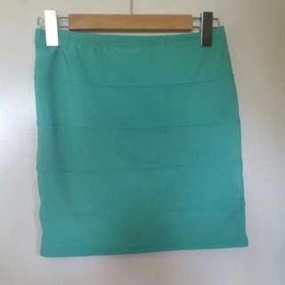 Mint Green Skirt Sz. 12