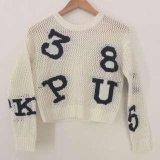 Alphabet Sweater Lightweight