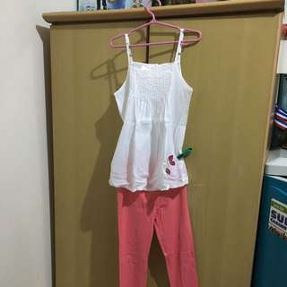 Top & Leggings 200 (5-7 Yrs Old)