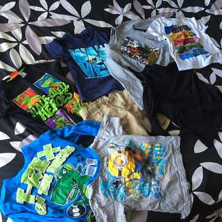 Size 3 Toddler Clothes (boys)