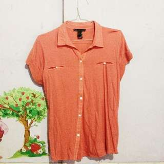 Casual Pink Top By Mango