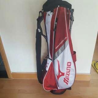 Mizuno Golf Bag With Cover