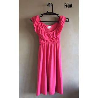 Maternity Dress (Pink)