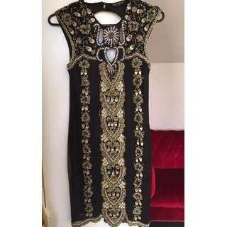 Stunning Miss Selfridge Evening Wear Dress Size 8