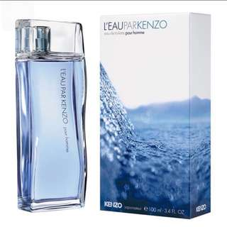 <100ml> Kenzo Leau Par Pour Homme EDT Perfume Tester For Men