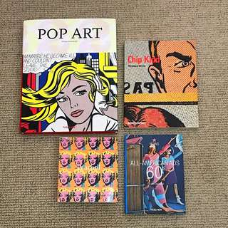 Pop Art Book Set