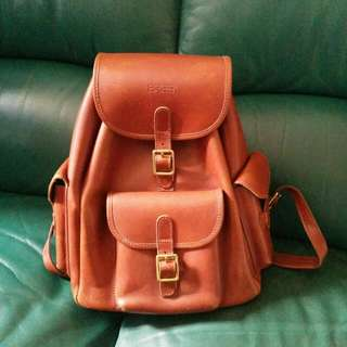 Bree leather backpack