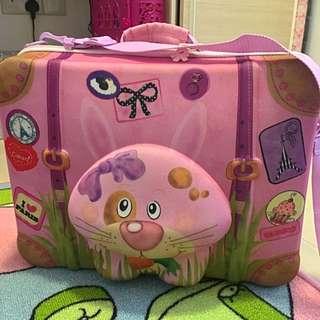 Okiedog Rabbit Suitcase (Luggage)