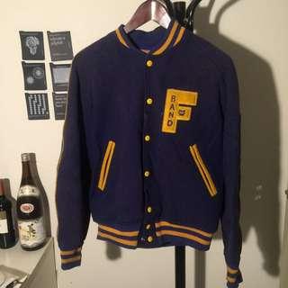 大學外套 隊服 棒球外套 古著vintage