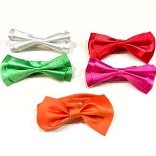 {{MARK DOWN}} Silky Single Color Bow Tie