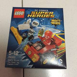 Cheap Authentic Lego 76063 Mighty Micros The Flash Vs Captain Cold