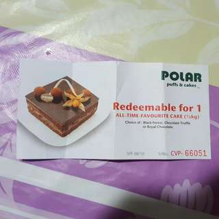 Polar Puff & Cake Voucher