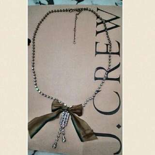 J.Crew Necklace Ribbon (NLJCR2)