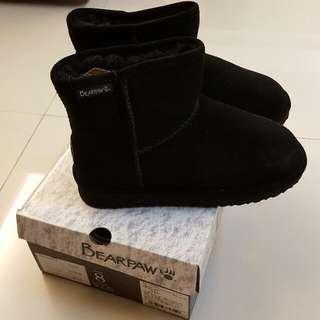 BEARPAW短筒雪靴黑色