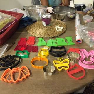 Cookie Cutters- Various Designs